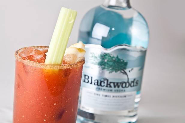Cocktail Bloodie Moorie con Blackwood's Premium Vodka