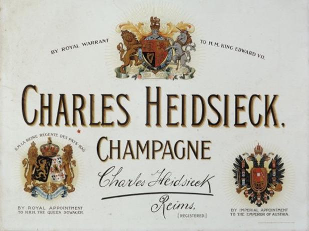 Charles Heidsieck diventa lo Champagne per eccellenza delle monarchie