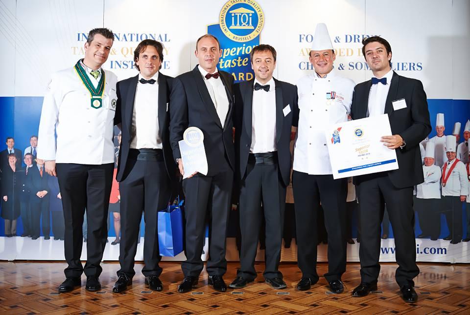 Er Boquerón premiata con due stelle d'oro ITQi da una giuria di 120 chef e sommelier