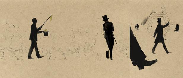 Il XIX secolo e il suo fermento sono il terreno ideale per le ambizioni di Charles