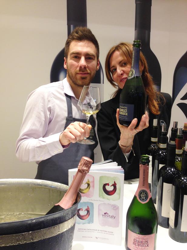 Lo Champagne Charles Heidsieck tra i protagonisti del Vinitaly 2015 di Philarmonica