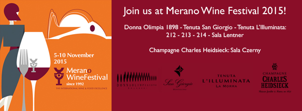 Vi aspettiamo al Merano Wine Festival 2015!